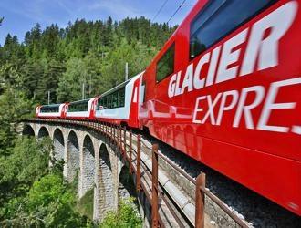Suiça com Glacier Express