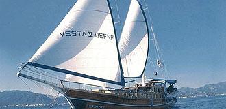 Mar Egeu de Barco Gulet
