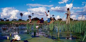 África do Sul com Delta do Okavango