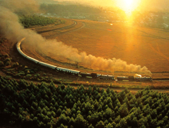 Rovos Rail - Pretória - Victoria Falls ou vice versa