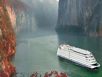 Cruzeiro pelo Rio Yangtze