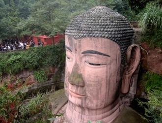 China com Buda de Leshan