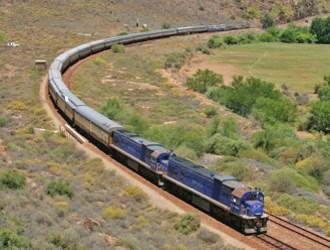 Trem African Explorer - De Namíbia à África do Sul