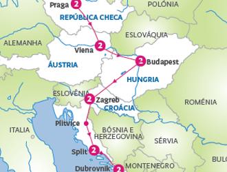 Pacote Europa Central com Croácia 2020 | Excursão Praga