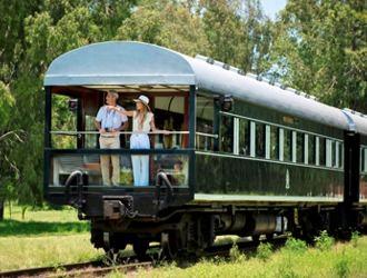 Trem Rovos Rail - Da Tanzânia à África do Sul