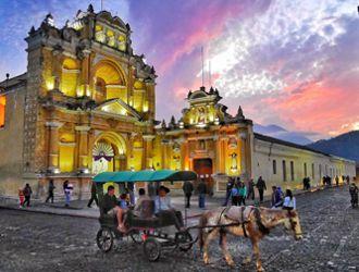 Rota Maia pela Guatemala e Honduras