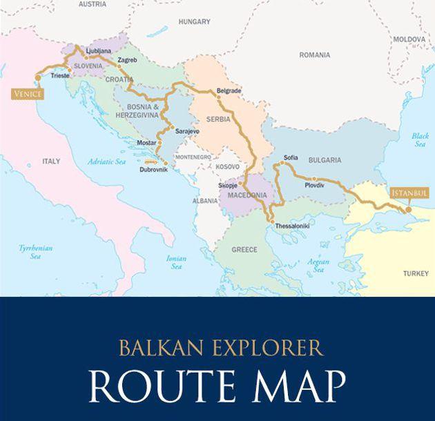 Danúbio Express - Veneza Istambul