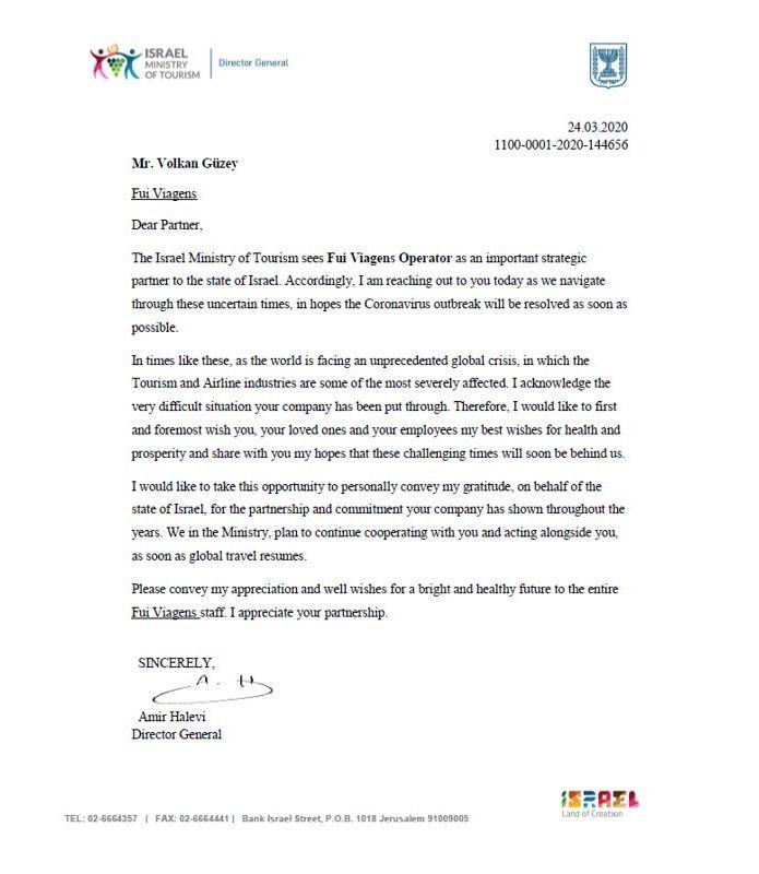 Carta de Israel