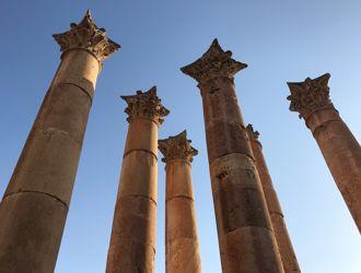 Jordânia - Romanos e Nabateus